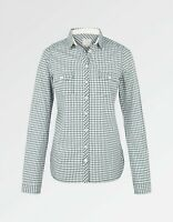 Fat Face - Women's - Rosie Gingham Check Shirt - Blue - Size 6 - BNWT