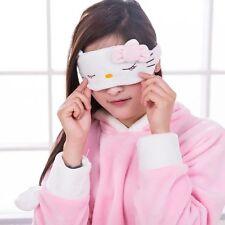 Sleep Mask Aid Eye Mask Shade Cover Eyepatch Cartoon Blindfold Shield Travel Hot