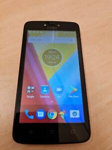 Motorola Moto C - 16GB - Black/Wine (Unlocked) Smartphone