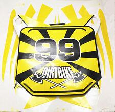 50cc 70cc 90cc 110cc 125c Dirt Bike Body Yellow Decal Set (sticker set) FREESHIP