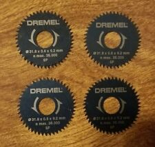4 NEW DREMEL 546 RIP / CROSSCUT SAW BLADE FOR 670 MINI SAW SMOOTHER CUTS