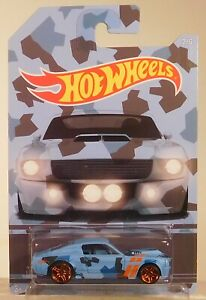 2016 HOT WHEELS 1967 SHELBY GT500 MUSTANG CAMOUFLAGE SERIES