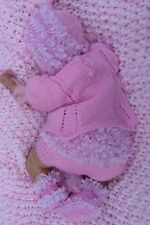 PRINTED PAPER KNITTING PATTERN TO MAKE ***LITTLE NIX*** FOR BABY OR REBORN DOLLS