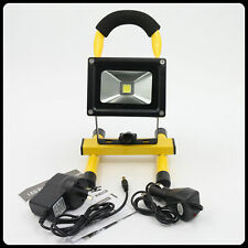 10W LED Rechargeable Flood Light IP65 Waterproof Portable Work Camping Fishing