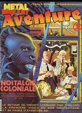 METAL HURLANT AVENTURE N°2. ED HUMANOS. 1982.