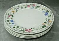 "Farberware ENGLISH GARDEN Set of 4-10 1/2"" Dinner Plates  #225 Fine China  NEW 4"