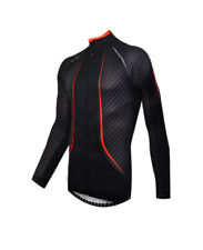 Funkier Airlite Carbon Long Sleeve Jersey Aw16 XL Carbon/red