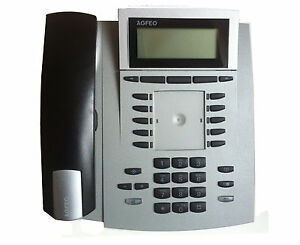 AGFEO ST40 UP0 IN Silver Proprietary Telephone Pc. 40 #100