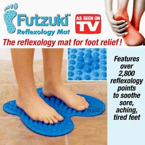 Futzuki Reflexology Foot Pain Relief Mat Relieving 2800 Points Massage Massager