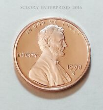 1990 S LINCOLN MEMORIAL *PROOF* CENT / PENNY  **FREE SHIPPING**