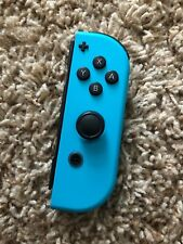 Genuine Nintendo Switch Right Side Neon Blue Joy Con Controller Only! Tested!