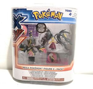 POKEMON X&Y X Y Mega Banette and Mega Mawile Figures 2 pack Series 2 BRAND NEW