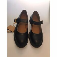 Dr. Martens Indica Women's Size 9 Black Leather Buckle Mary Jane Shoes