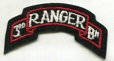 US Army patch 3rd RANGER Battalion Color Scroll Tab