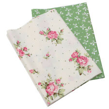 2PCS 50x40cm Cotton Fabric Material DIY Craft Sewing Patchwork Quilting