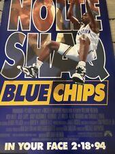 Blue Chips Shaquille Shaq O'Neal Basketball Original Movie Poster 27x40 1994