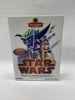STAR WARS Clone Wars ~ Fruit Snacks Limited Edition | Yoda, Clones, C3PO, R2D2