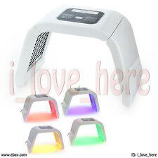 7 Colors Pdt Light Led Photon Mask Neck Face Skin Rejuvenation Therapy Wrinkles