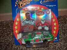 NASCAR BOBBY LABONTE COCA COLA #18 INTERSTATE CAR & PITCHER CARD COLLECTABLE