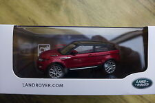Original Land Rover Modellauto Range Rover Evoque Coupe 1:43 rot LRDCA3EVOQR