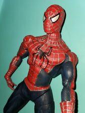 Spider-Man 2 Movie 12'' Poseable figure Tobey Maguire Marvel ToyBiz 2004