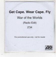 (FW614) Get Cape Wear Cape Fly, War of the Worlds - DJ CD