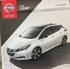 2018 Nissan Leaf  Brochure