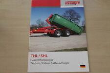 158886) Krampe Hakenliftanhänger Prospekt 10/2011