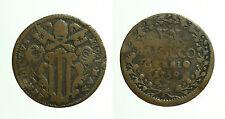 pcc1647_14) PONTIFICIO GUBBIO BENEDETTO XIV 1740-1758 BAIOCCO 1750 A X