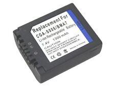 new 4 piece Camera Battery CGA-S006 S006E DMW-BMA7 For DMC-FZ38 FZ7GK FZ18S FZ50