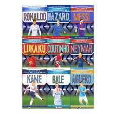 Ultimate Football Heroes 9 Book Collection Set Pack Messi, Neymar, Ronald PB NEW