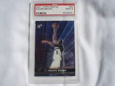 2001-02 Topps Pristine Wizards Basketball Card #56 Kwame Brown PSA 9 MINT