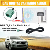 Glass Mount Active DAB Digital Car Radio Head Unit FAKRA Aerial Antenna