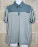511 Tactical Mens Size Medium M Green Short Sleeve Polo Shirt 5.11 Performance