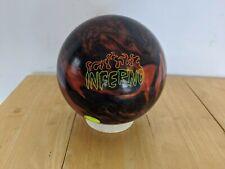 15lb Brunswick Vintage Inferno Bowling Ball Used