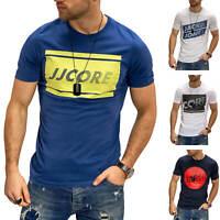 Jack & Jones Herren T-Shirt Print Shirt Kurzarmshirt Casual Logo Modern Casual