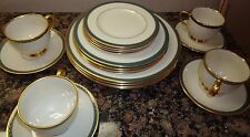 LENOX PATRIOT FINE CHINA PRESIDENTIAL COLLECTION 20 PIECE DINNER SET FOR 4_5 PC
