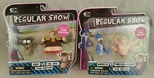 Regular Show Rigby vs The Urge Thumb Wrestlers + Mordecai VS Forearmageddon Toys