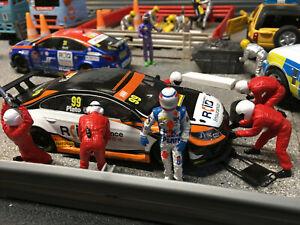 Scalextric BTCC Jason Plato Custom Painted Driver Figure 1:32 Touring Slot Cars
