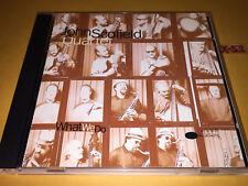 JOHN SCOFIELD QUARTET cd WHAT WE DO joe lovano dennis irwin b stewart BLUE NOTE