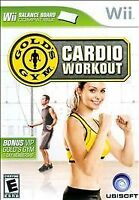 Gold's Gym Cardio Workout (Nintendo Wii, 2009)   COMPLETE      FAST SHIPPING !