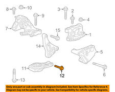 GM OEM Front Suspension-Strut Bolt 11589277