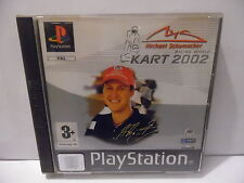 Jeu Sony PS1 : Michael Schumacher Kart 2002 - complet