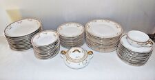 Vintage Epiag Royal Czechoslovakia EPI15 71 Piece China Set Small Rose Pattern S
