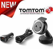 TomTom Rider 40 42 400 410 450 SATNAV GPS Car Mount Kit + USB Dual Charger