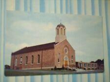 VINTAGE PHOTO POST CARD ST.NICHOLAS ORTHODOX CHURCH JOHNSTOWN  PENNSYLVANIA