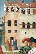 Libro de los proverbios. NUEVO. Nacional URGENTE/Internac. económico. LITERATURA
