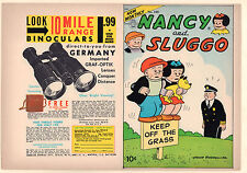 Comics on Parade #100 Unused Comic Book Cover - Nancy and Sluggo (9.2) 1954
