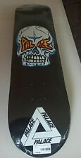 "Palace Skateboards Hesh Skull Skateboard Deck 7.75"" Black New/DS"