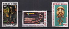 CONGO 1966 Festival Mondiale Arte MNH** Yvert 183-5